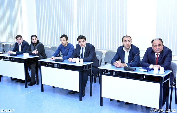 Institue of Information Technology of ANAS. A regular scientific seminar of the department No.4