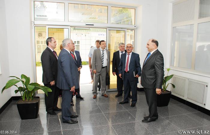 AMEA İnformasiya Texnologiyaları İnstitutu. Moskva Energetika İnstitutunun (MEİ) rektoru, professor Nikolay Roqalevin rəhbərlik etdiyi nümayəndə heyəti ilə görüş