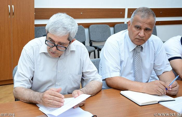 Presidium of ANAS. Semi-annual report of Department No.6