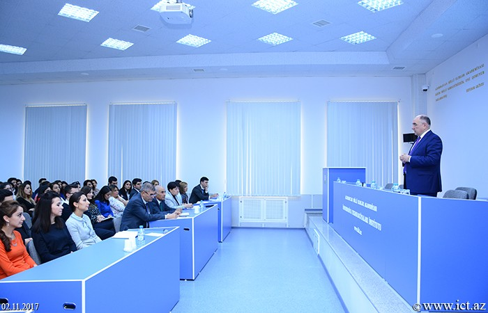 Institute of Information Technology of ANAS. A meeting dedicated to the reorganization of the Young Scientists and Specialists Council