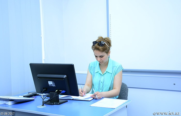 "Institute of Information Technology of ANAS. Test exam on ""Basis of Scientific Research"" was held"