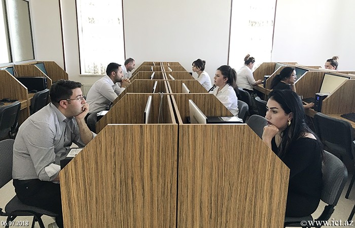 Nakhchivan State University. Doctoral exam in informatics was held