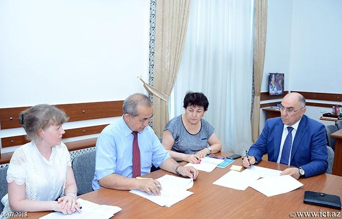 Президиум НАНА. Полугодовой отчет отдела №2 за 2018 год