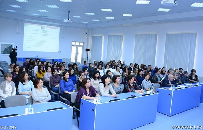 Институт информационных технологий НАНА.  Мероприятие по случаю Международного дня борьбы за ликвидацию насилия в отношении женщин