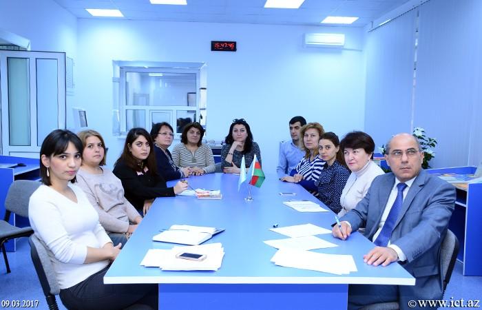 AMEA İnformasiya Texnologiyaları İnstitutu. 12 və 13 saylı şöbələrin birgə elmi seminarı
