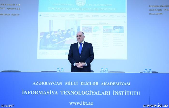 AMEA İnformasiya Texnologiyaları İnstitutu. Elmi şuranın iclası