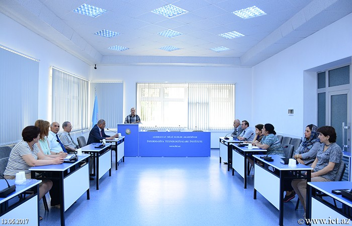 Institute of Information Technology of ANAS. Efficient distribution of energy resources was discussed
