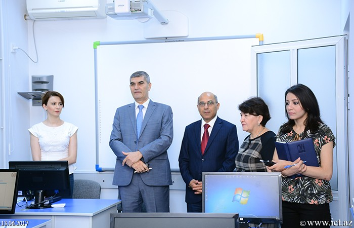 """Institute of Information Technology of ANAS. A doctoral examination was held on  """"System Analysis, Management and Information processing"""" specialty"""