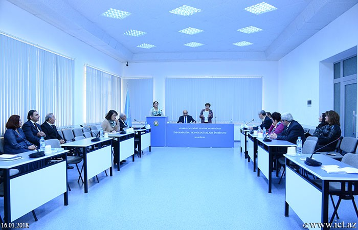 Institute of Information Technology of ANAS. Two theses were discussed at the seminar of  Dissertation Council