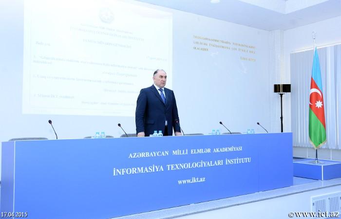 AMEA İnformasiya Texnologiyaları İnstitutu. Elmi seminar