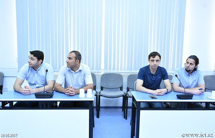 Institute of Information Technology of ANAS. The next scientific seminar of the department №4 was held
