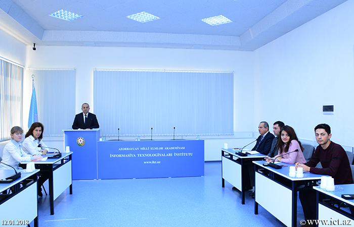Institute of Information Technology of ANAS. Scientific seminar of Department № 2  held