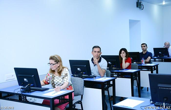 AMEA İnformasiya Texnologiyaları İnstitutu. Tədris-İnnovasiya Mərkəzində (TİM) informatika fənni üzrə doktorluq imtahanlarına start verildi