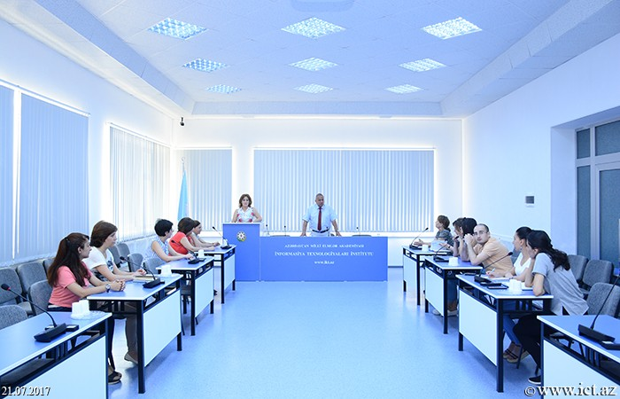 Institute of Information Technology  of ANAS. The dissertation on efficient management of technoparks was discussed