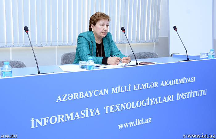 """Institute of Information Technology of ANAS. Discussing the thesis on the """"Developing the methods and algorithms for the synthesis of voice biometric authentication systems"""""""