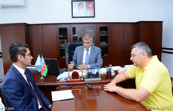 Институт информационных технологий НАНА. Расширяются связи между сетями AzScienceNet и Азербайджанской образовательной сетью