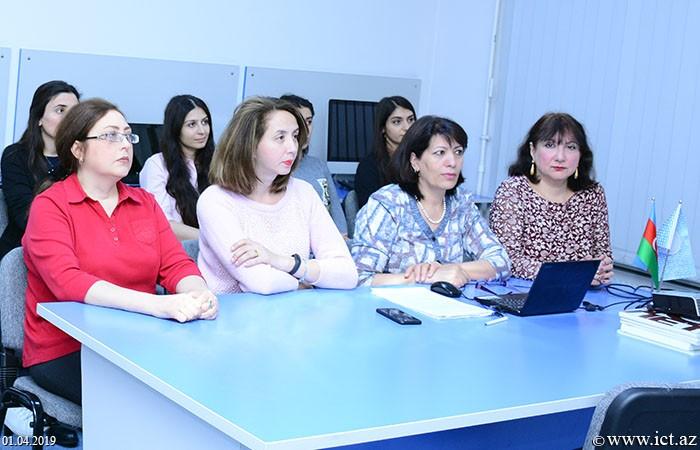 AMEA İnformasiya Texnologiyaları İnstitutu. 16 saylı şöbənin elmi seminarı