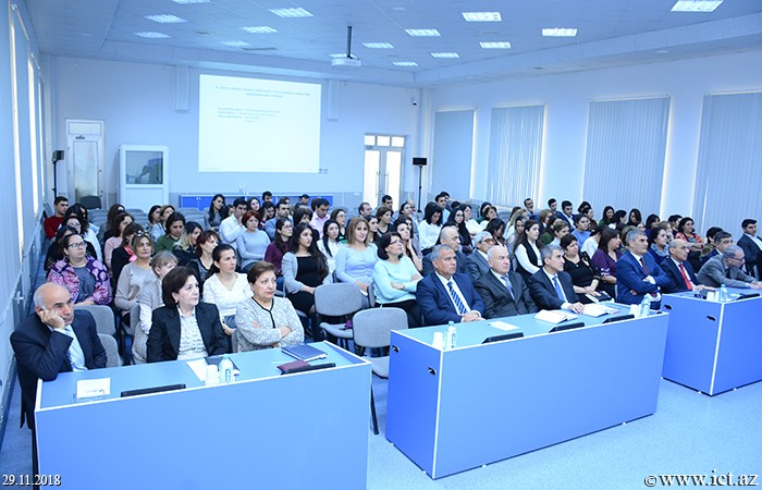 Institute of Information Technology of ANAS. Annual report of the Training Innovation Center