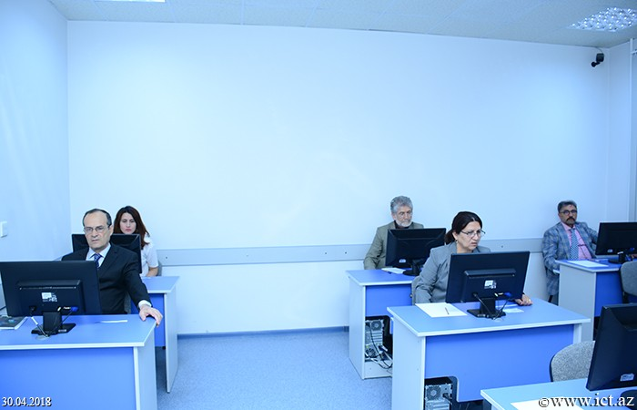 Institute of Information Technology of ANAS.  External exams for PhD students held