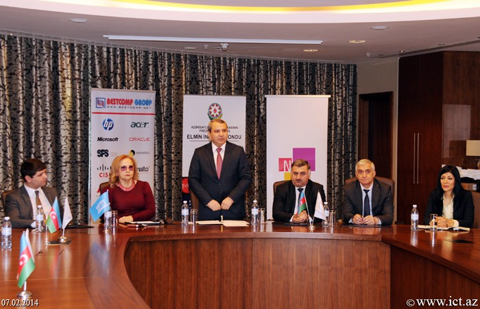 Hilton Baku hotel. Event dedicated to the results of the 3rd Joint ICT Award Contest