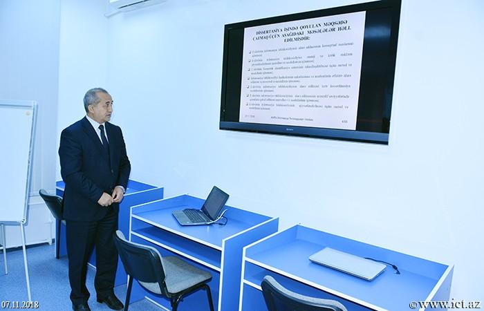 Институт информационных технологий НАНА. Предложены методы и модели управления информационной безопасностью э-государства
