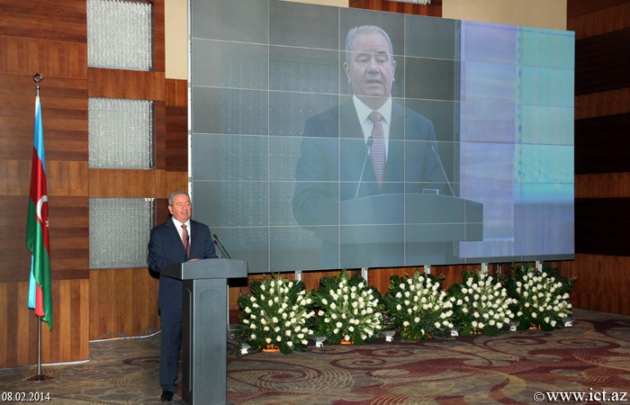 """""""Hilton Baku"""". Event dedicated to the outcomes of the """"ICT Year"""" and to the anniversary of the launch of the first telecommunication satellite of Azerbaijan into the orbit"""