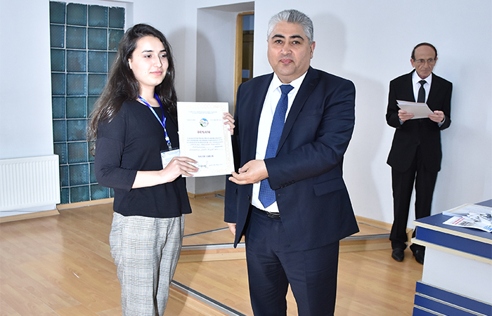 Colleague of Institute was awarded with Second place at the scientific conference of the of masters
