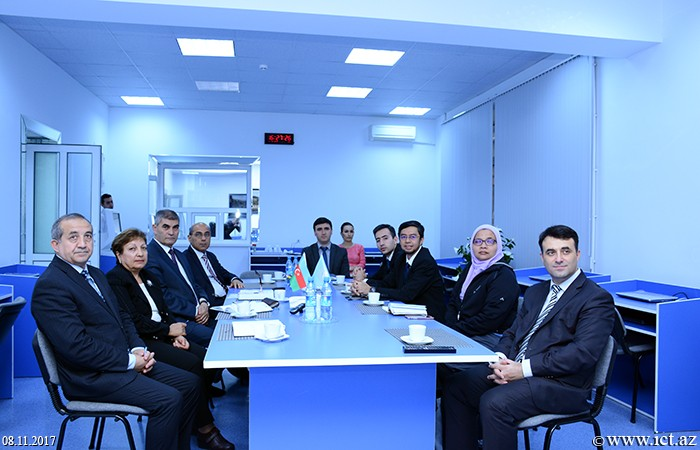 A meeting with the representatives of Malaysian Technical University are held