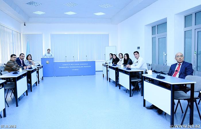Институт информационных технологий НАНА. Заслушан научный семинар Отдела№16, посвященный обсуждению веб-спамов и проблем, существующих в этой области