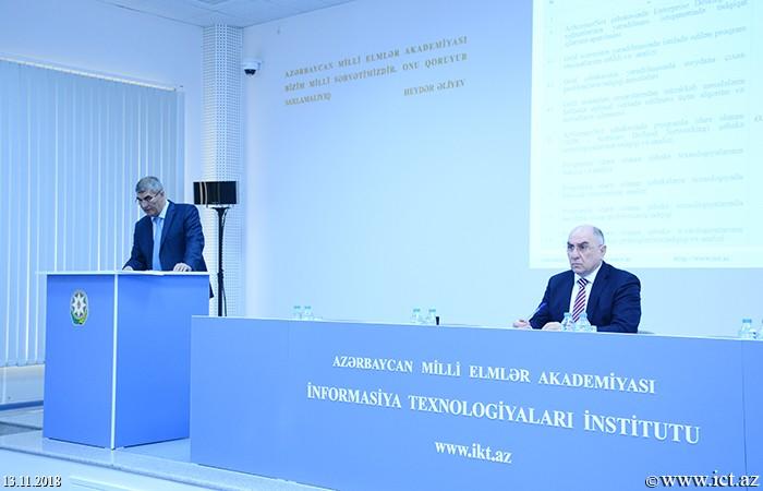 Институт информационных технологий НАНА. Заслушан годовой отчет Отдела №4 за 2018 год