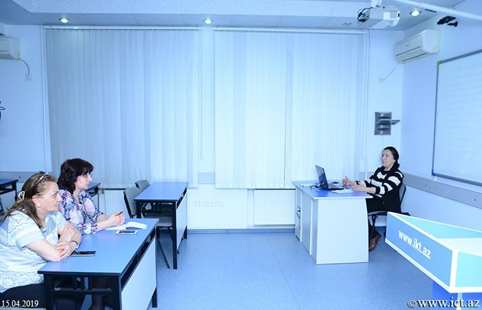 Институт информационных технологий НАНА. Состоялось обсуждение методов оценки учеников на уроках с применением интеллектуальных игр