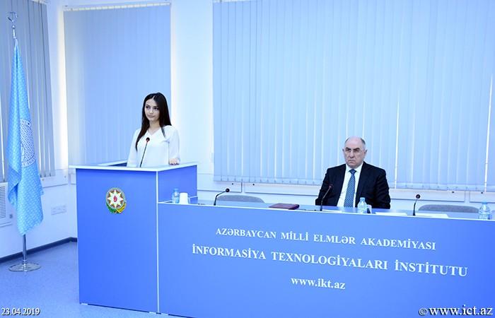 Институт информационных технологий НАНА. Научный семинар Отдела №17