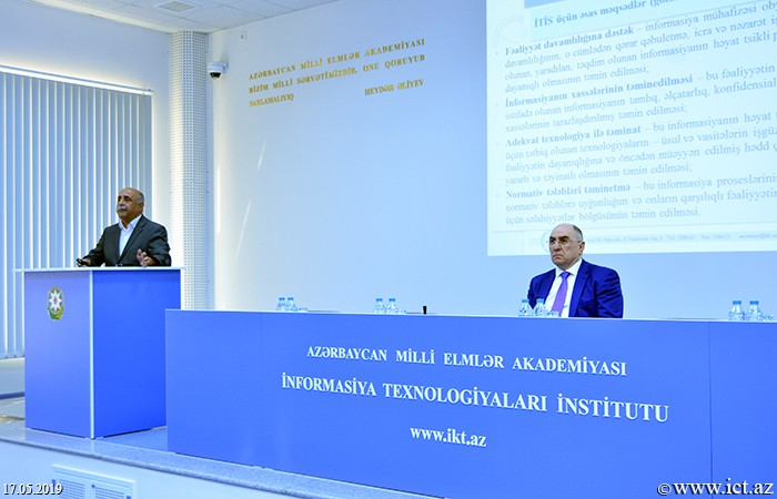 Institute of Information Technology of ANAS. The Institute of Information Technology celebrated May 17 - the World Telecommunications and Information Society Day