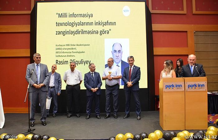 """""""Park Inn"""" otel. Azərbaycan Milli İnternet Mükafatı olan NETTY 2019-un 15-ci mükafatlandırılma mərasimi"""