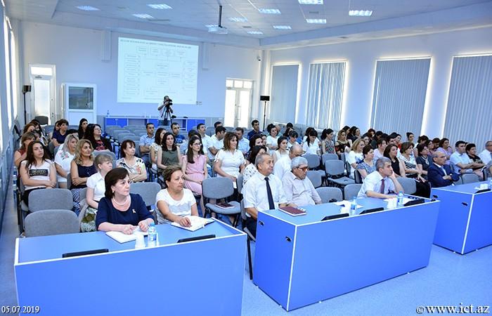 Институт информационных технологий НАНА. Научный семинар