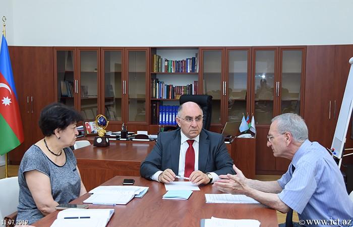 Президиум НАНА. Полугодовой отчет Отдела№9 за 2019 год