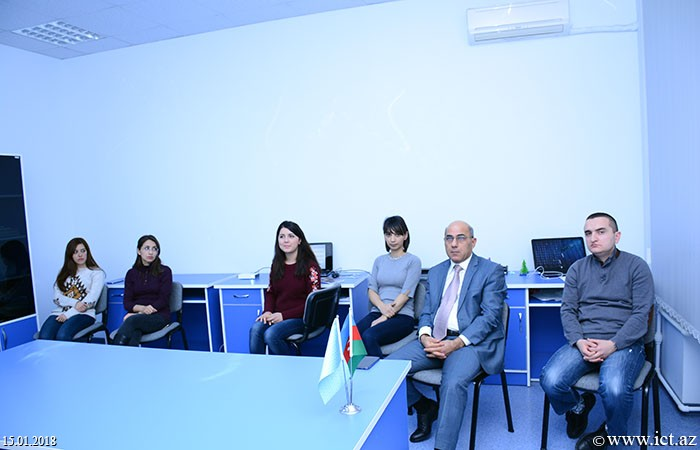 Institute of Information Technology of ANAS. The scientific seminar of department № 13  held