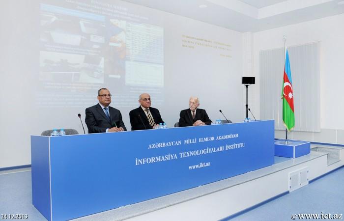 AMEA İnformasiya Texnologiyaları İnstitutu. AMEA Fizika-Riyaziyyat və Texnika Elmləri Bölməsinin 2013-cü ili əhatə edən hesabat iclası