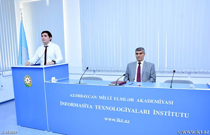 AMEA İnformasiya Texnologiyaları İnstitutu.4 saylı şöbənin elmi seminarı