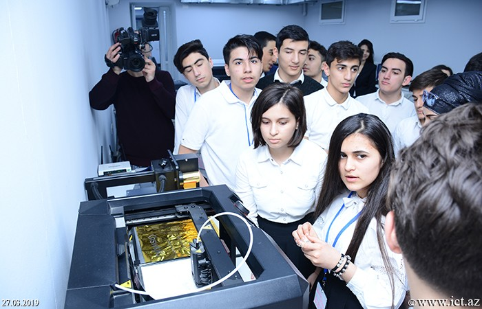"""AMEA İnformasiya Texnologiyaları İnstitutu. """"Elm günü"""" çərçivəsində institutda gənclərlə görüş"""