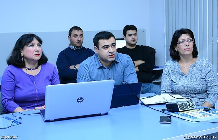 AMEA İnformasiya Texnologiyaları İnstitutu.  16 saylı şöbəsinin elmi seminarı
