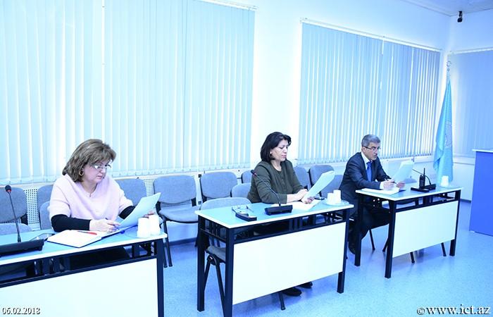 AMEA İnformasiya Texnologiyaları İnstitutu. İnstitut əməkdaşları üçün ingilis dili kurslarına start