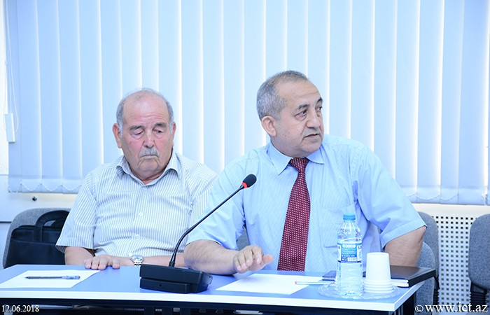 Institute of Information Technology of ANAS.  Defense of the master's theses was held at the Institute