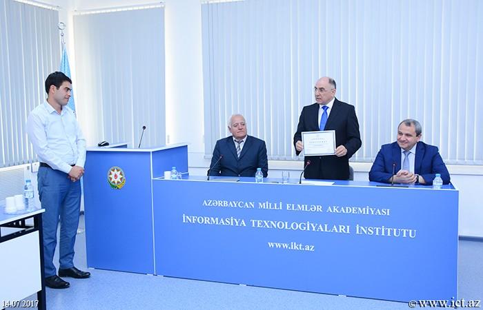 AMEA İnformasiya Texnologiyaları İnstitutu. Nəsrəddin Tusi adına Şamaxı Astrofizika Rəsədxanasının veb-saytının yeni versiyasının təqdimat mərasimi keçirildi.