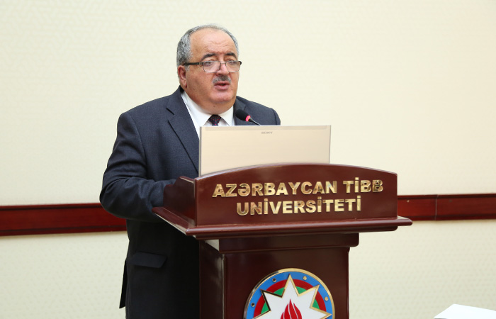 Educational-Therapeutic Clinic of Azerbaijan Medical University. Meeting of Presidium of ANAS