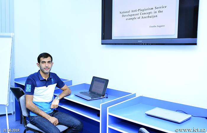 Институт информационных технологий НАНА. Научный семинар Отдела №12