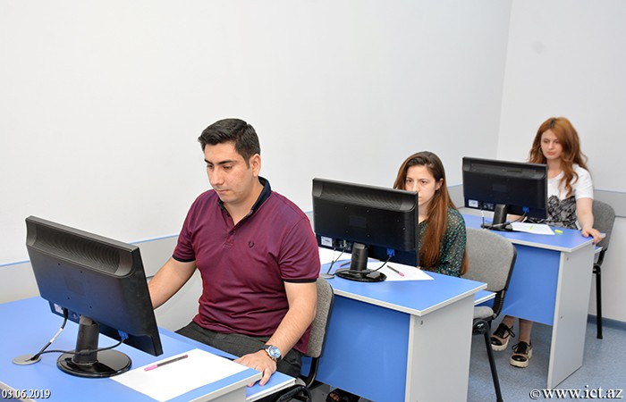 Institute of Information Technology of ANAS. Session exams of the Institute's Master's students launched