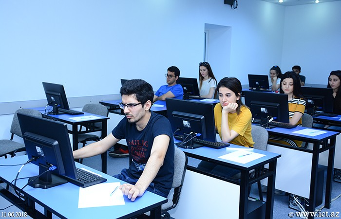 Institute of Information Technology of ANAS. Master's students of ANAS passed exams on pedagogy