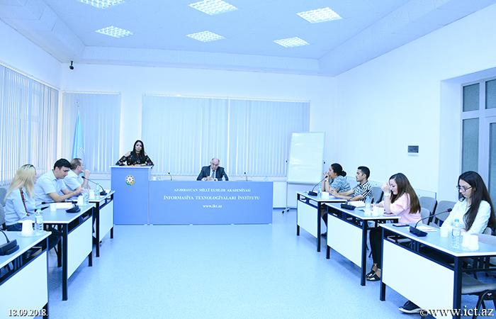 AMEA İnformasiya Texnologiyaları İnstitutu. İntellektual informasiya texnologiyaları və jurnalistika problemlərinə həsr olunmuş seminar