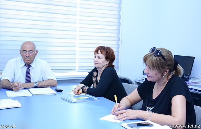 AMEA İnformasiya Texnologiyaları İnstitutu. 5 saylı şöbənin terminoloji standartlar üzrə resurslara həsr olunmuş elmi seminarı